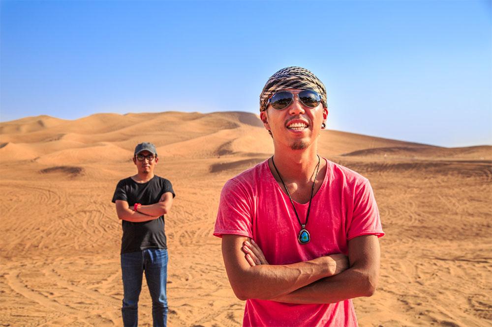 出典:冬を先取り!灼熱砂漠の中東ドバイでスキーをやってきました。