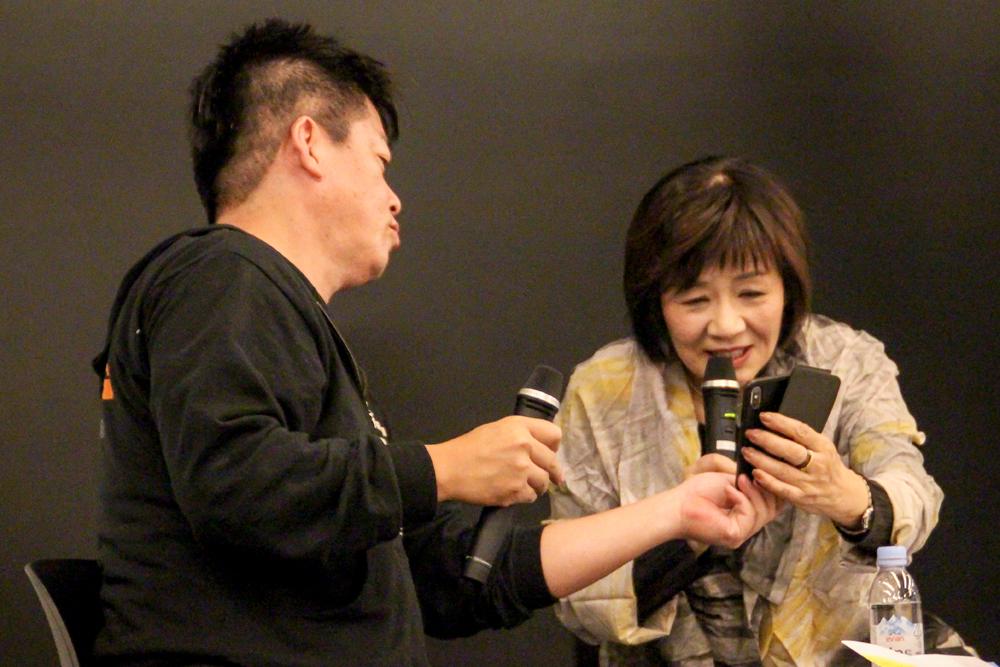 堀江貴文×里中満智子トークイベント マンガの魅力って何だろう