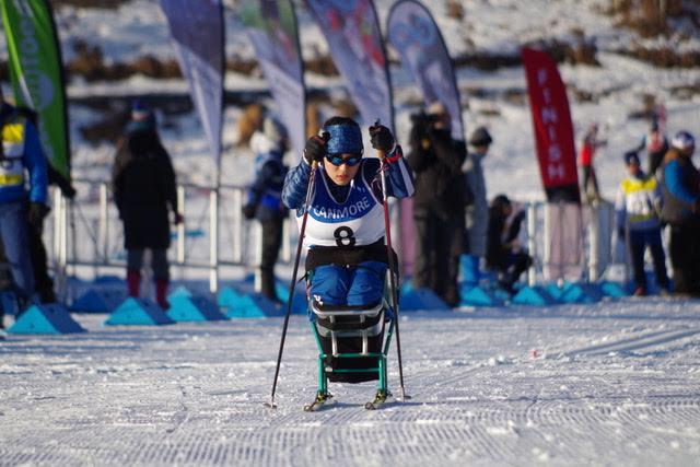競技を始めてわずか3年でパラリンピック出場! シットスキー新田のんの選手、挑戦の原点