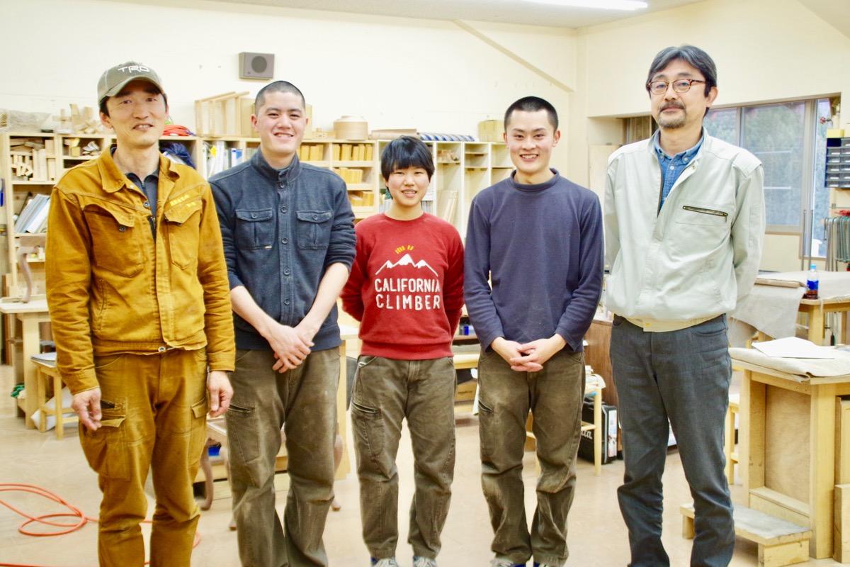 学びながら技術を身に着け、家具職人の道へーー岐阜県・高山市の「飛騨職人学舎」見学記